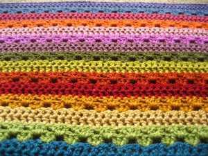 Cosy Stripe Blanket - Attic24
