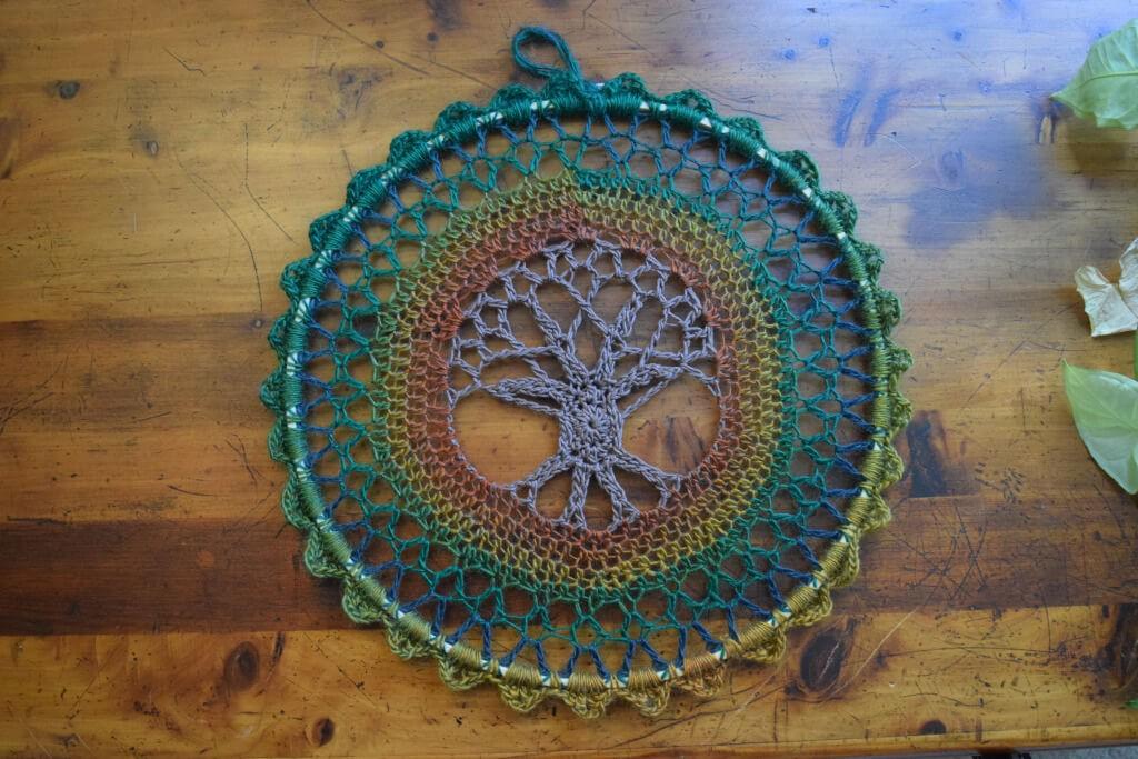 Fonkelnieuw Gratis haakpatroon Mandala: Tree of Life Mandala | Een Mooi Gebaar UB-73