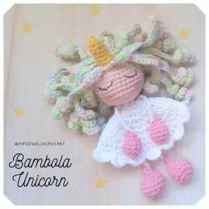 Bambola Eenhoorn Haakpatroon